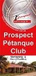Prospect Petanque Club Brochure