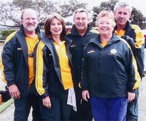 Trans Tasman, Mike Valmai Brett Sue and Allan