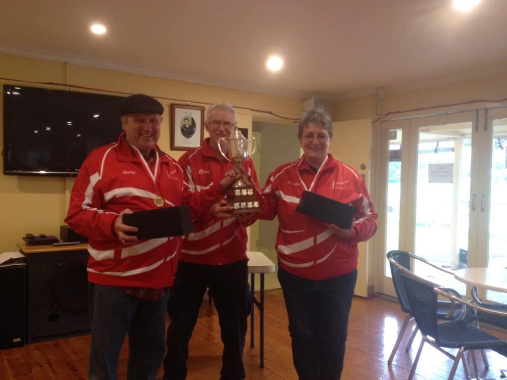 Foundation Cup 2020 winners Marty and Marylin